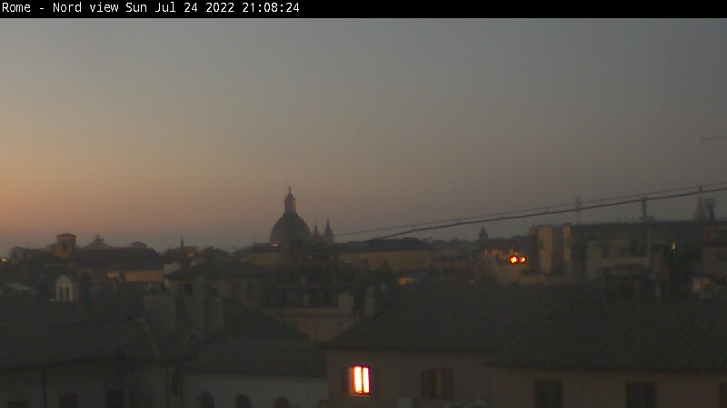 Roma live view webcam